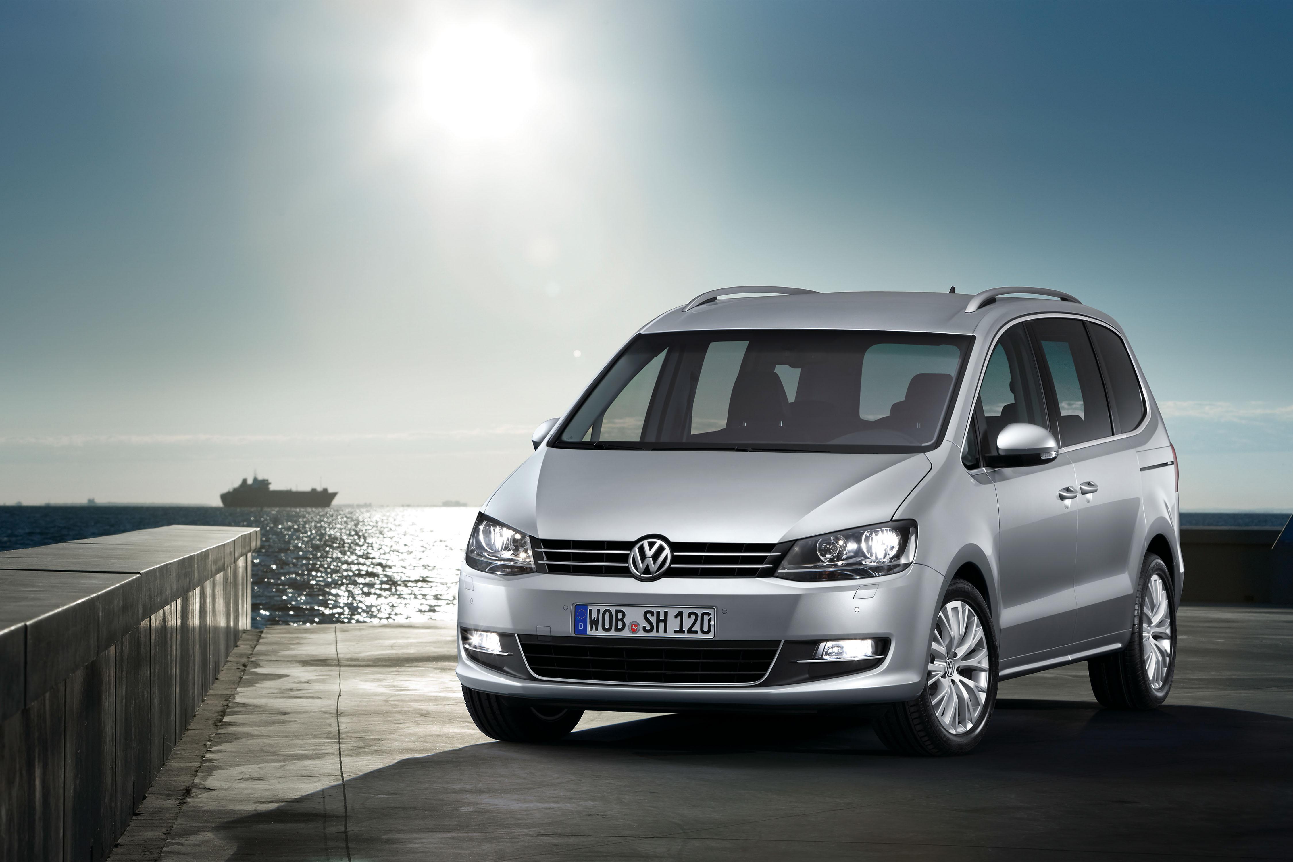 Volkswagen Sharan voorkant