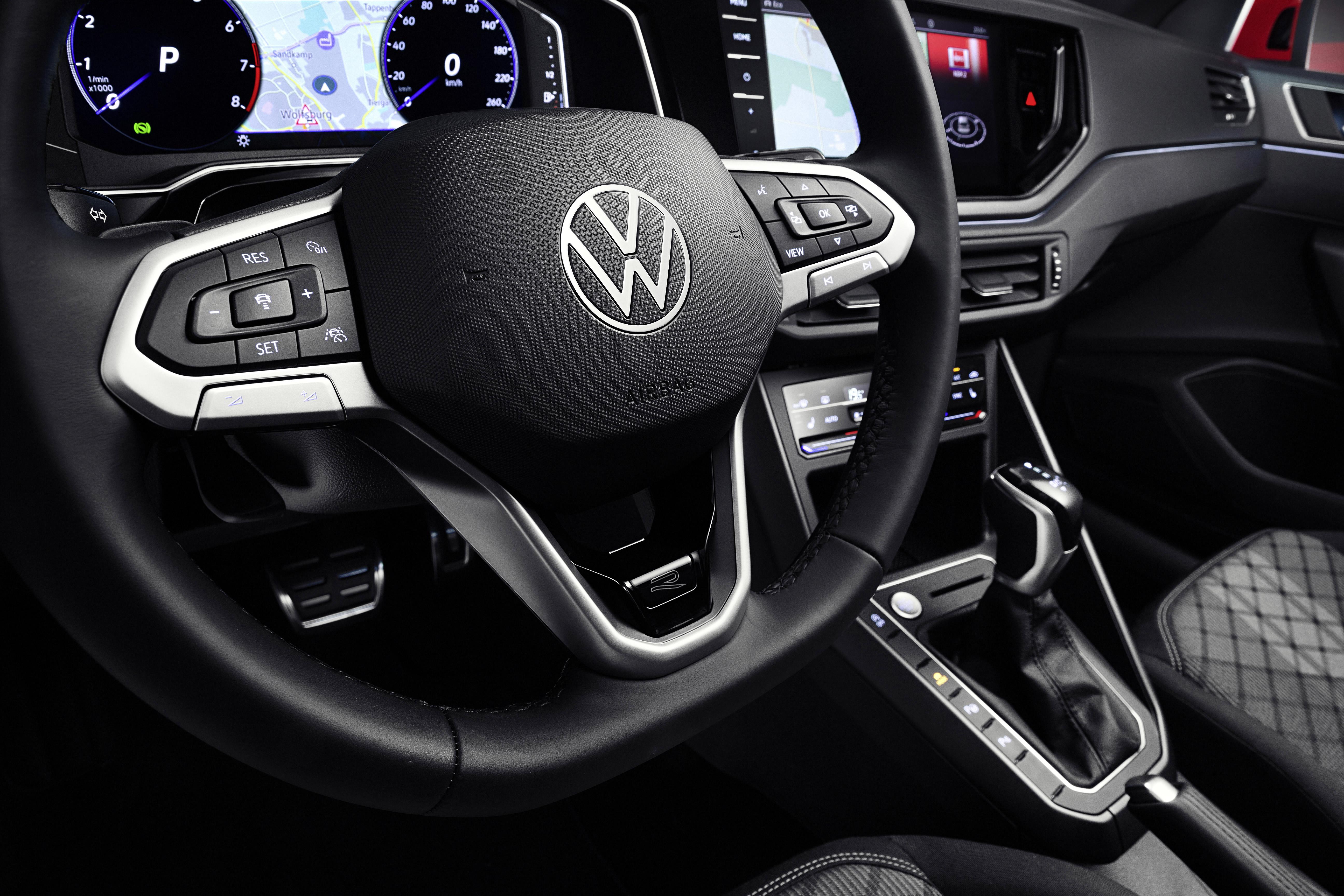 VW Taigo dashboard
