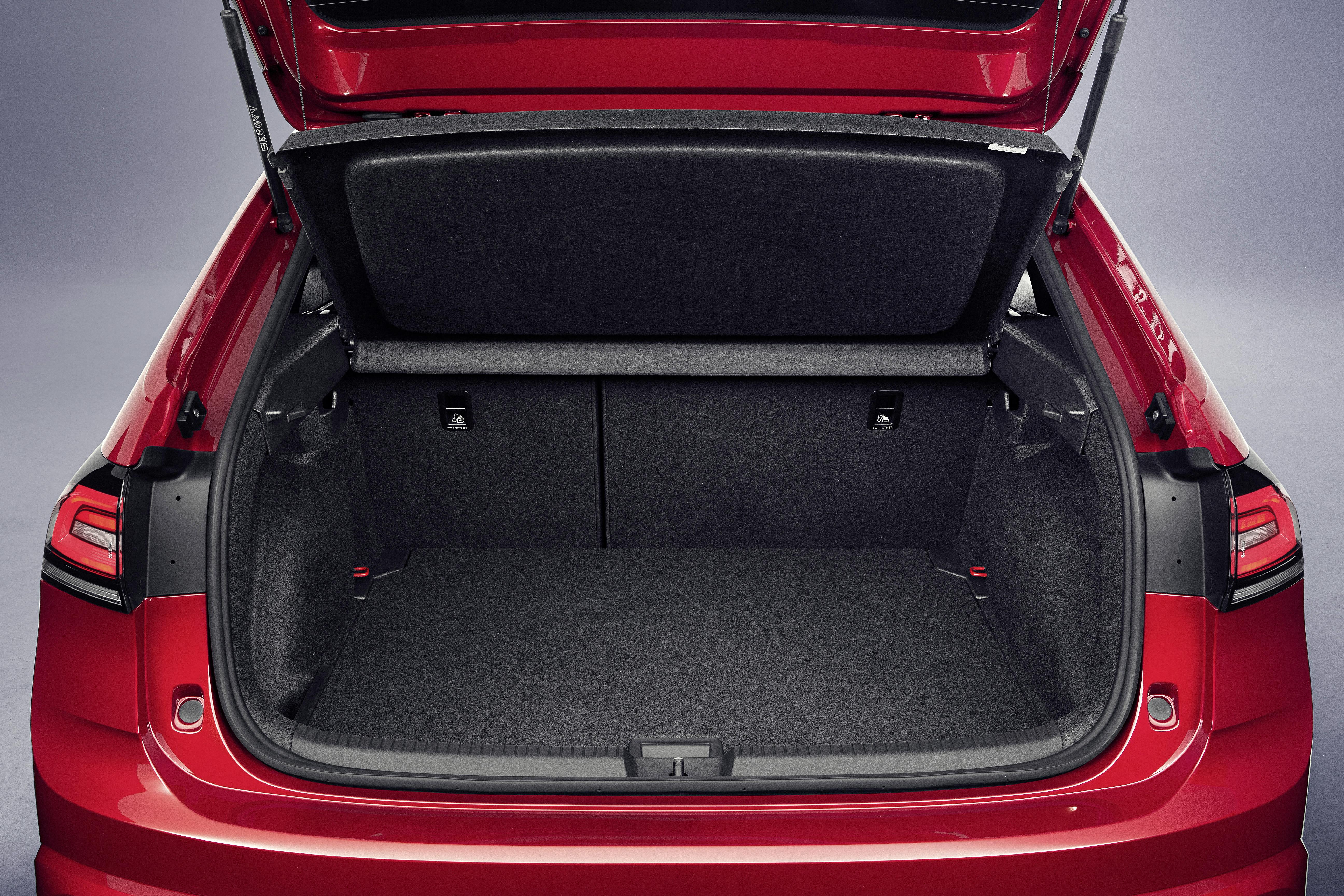 VW Taigo kofferbakruimte