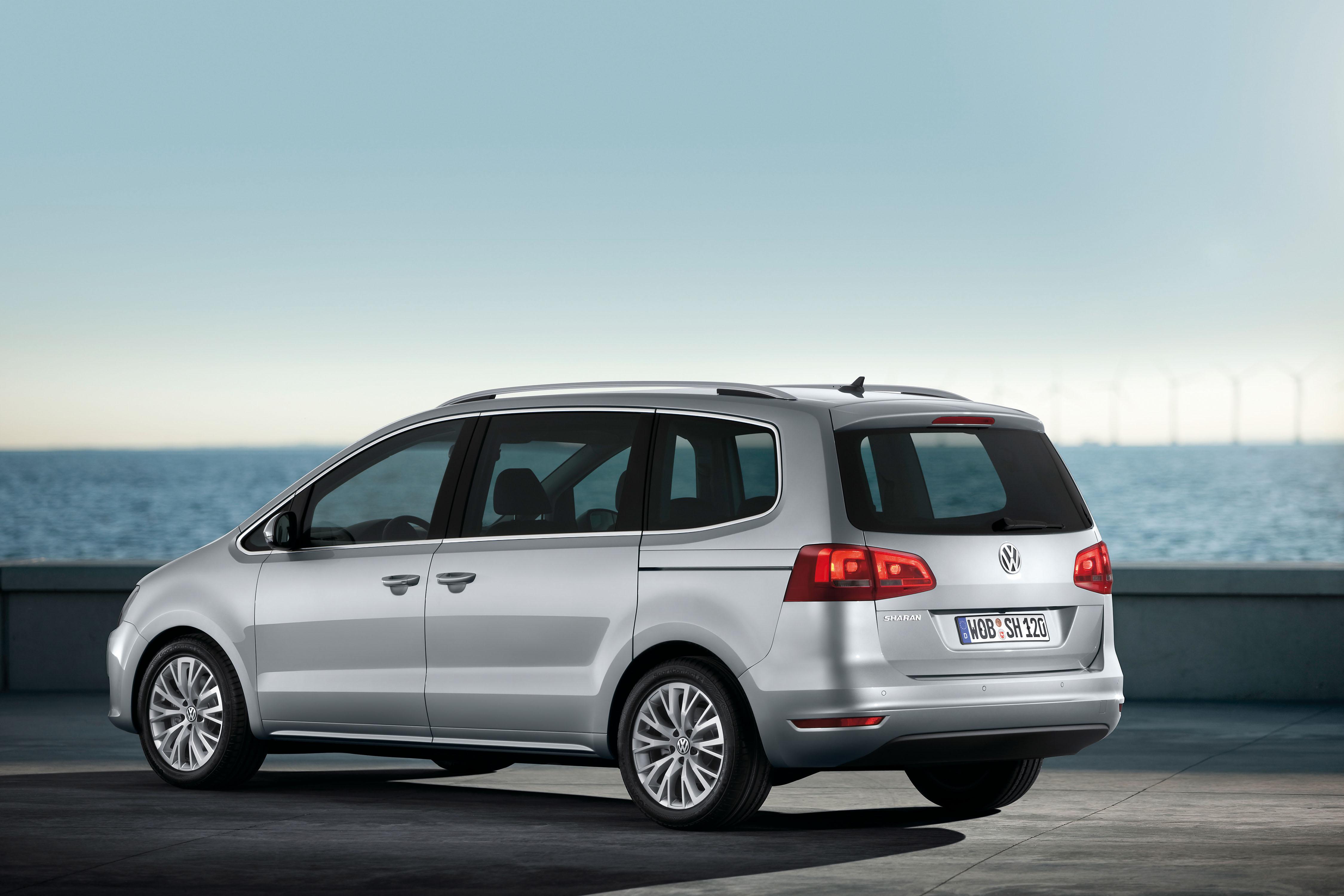 Volkswagen Sharan Zijkant