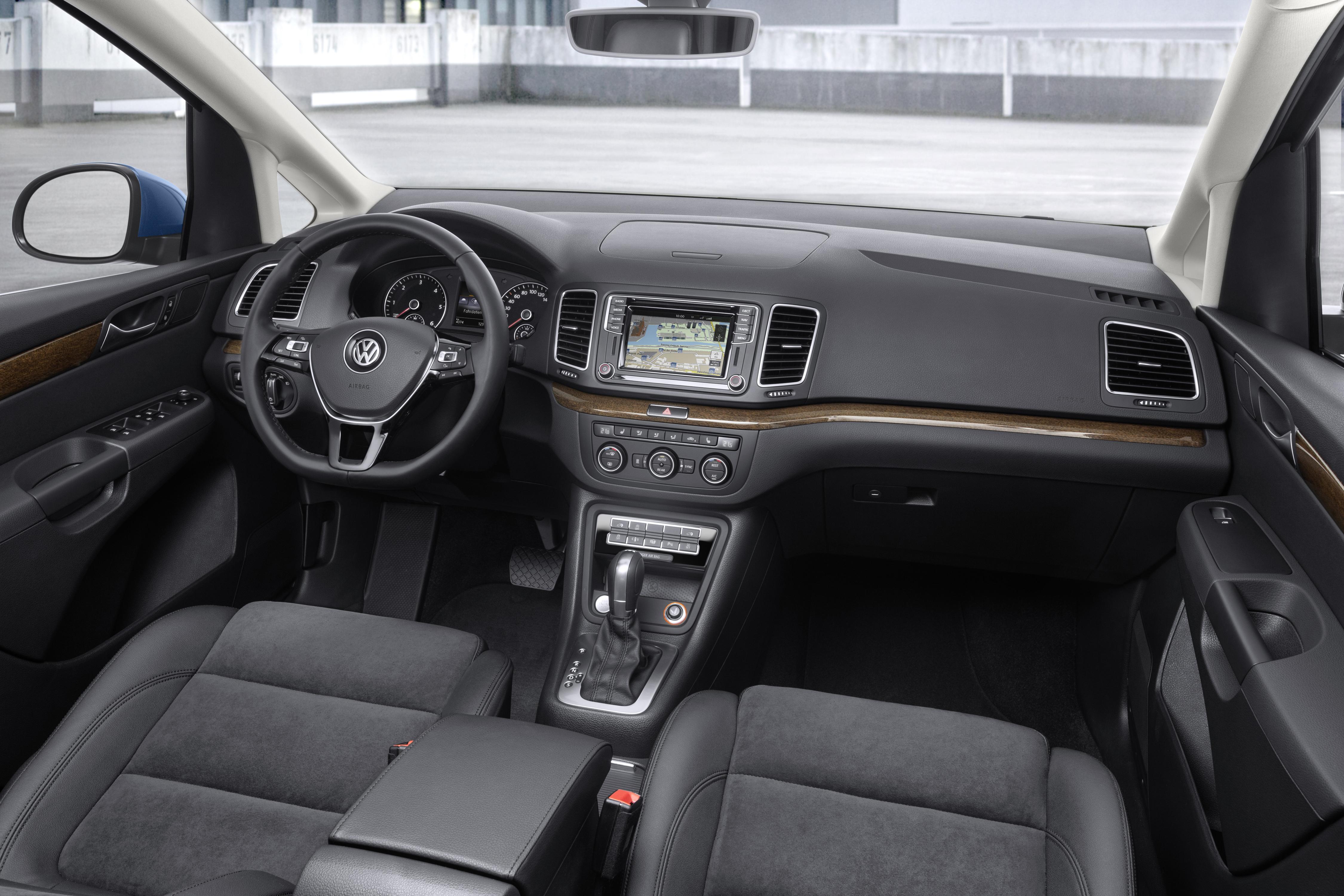 Volkswagen sharan interier