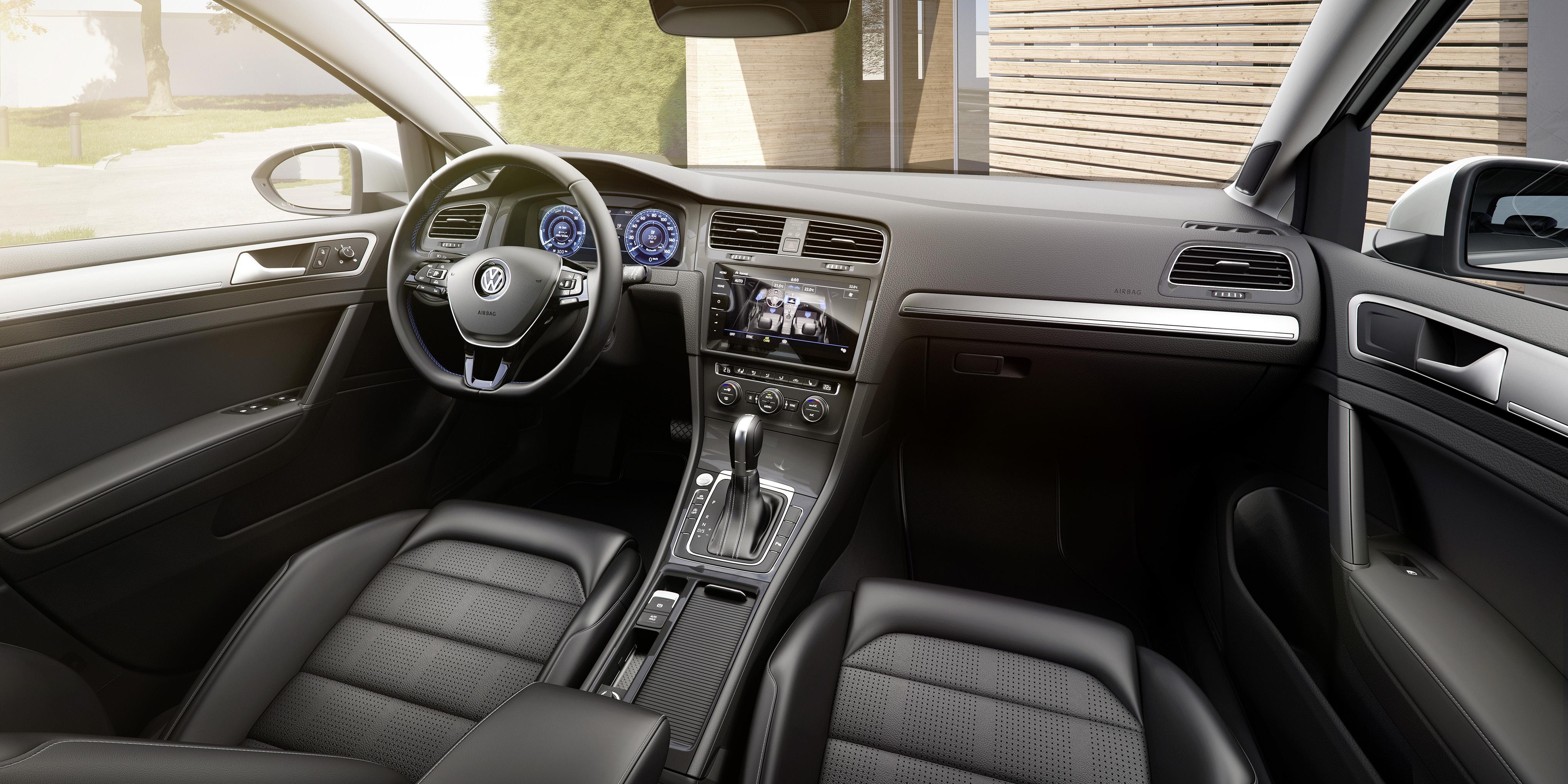 Volkswagen e-Golf interieur
