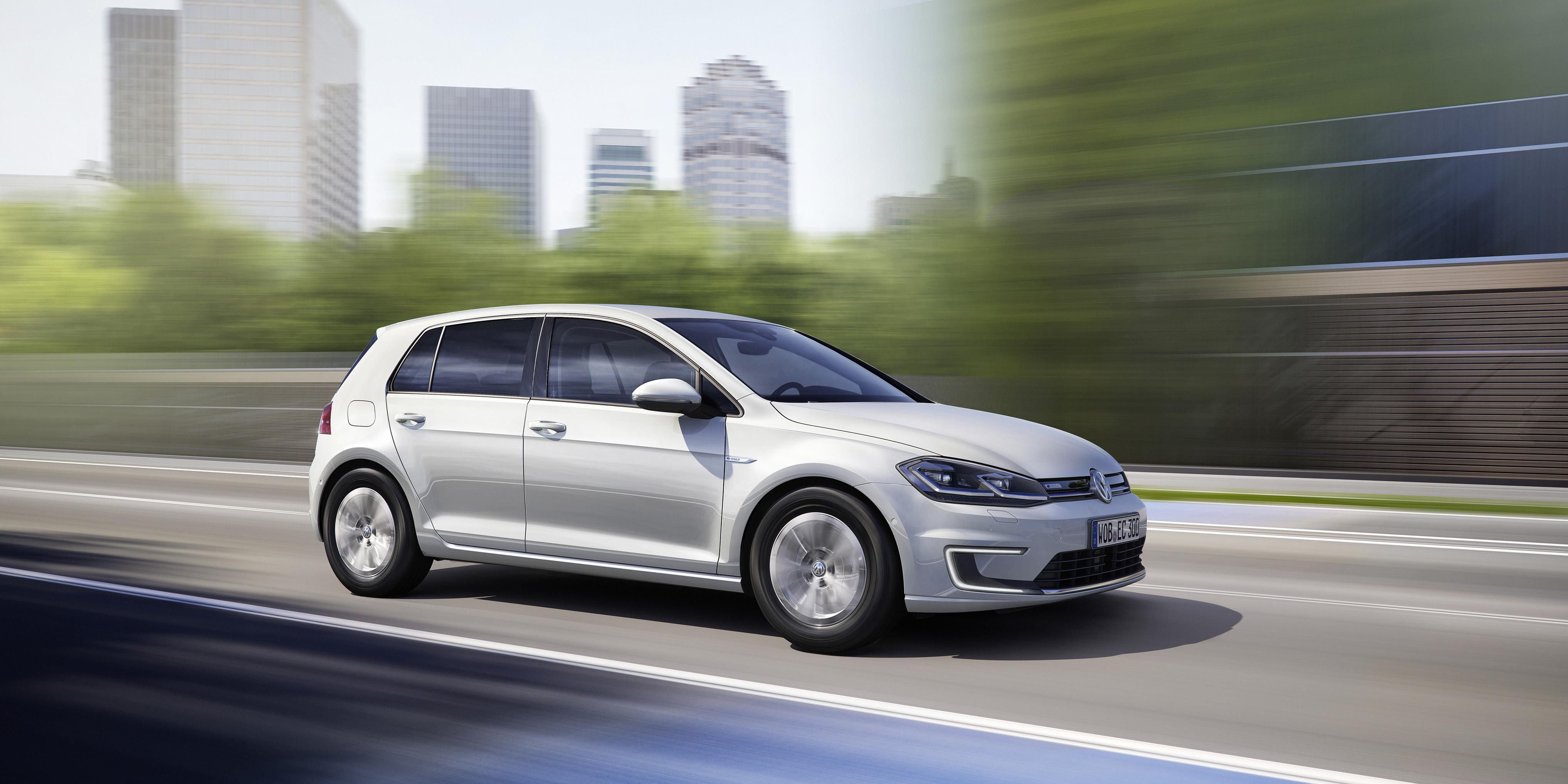 Volkswagen e-Golf zijkant
