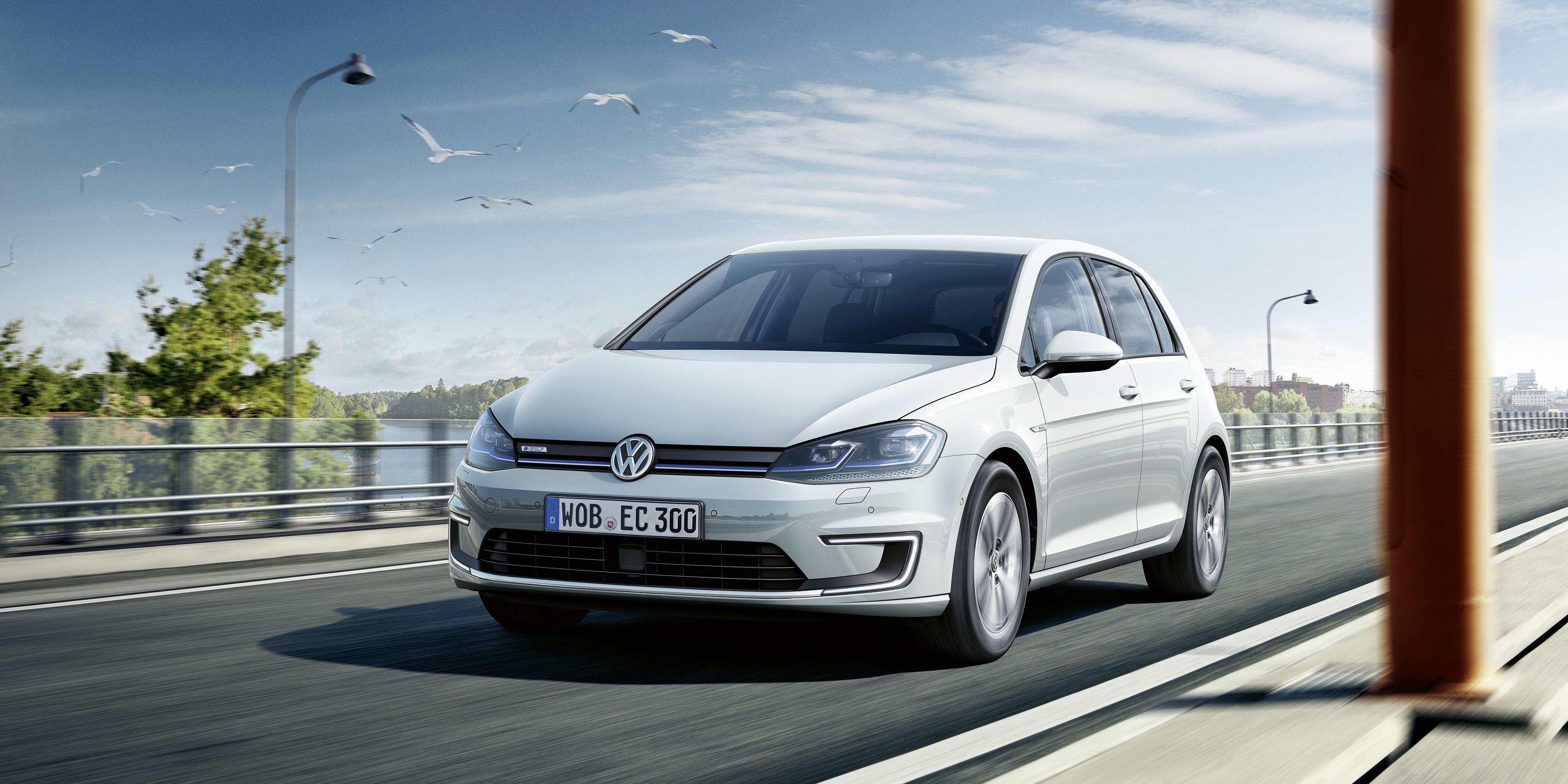 Volkswagen e-Golf voorkant
