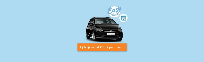 Easy Private Lease Weken Golf Sportsvan Tb Volkswagen