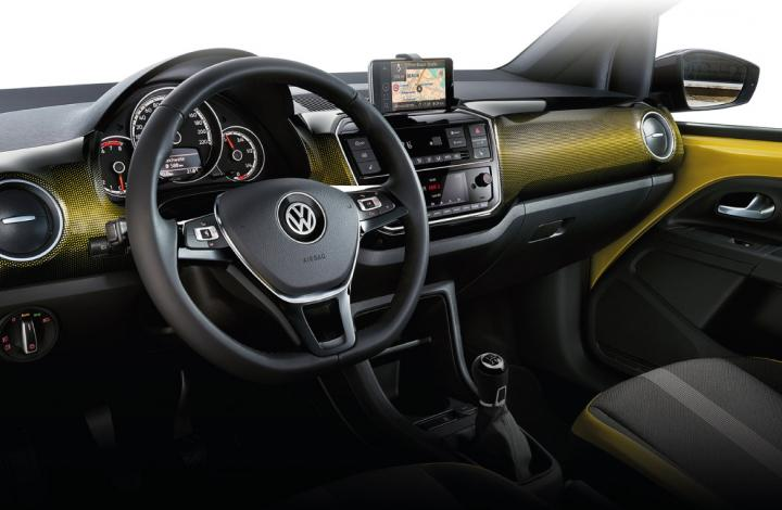 Volkswagen up interieur 2017